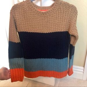 Anthropologie Sparrow Olaf Colorblock Sweater